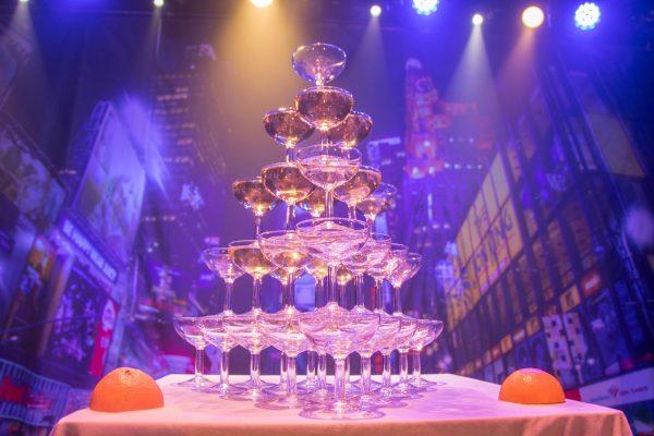 Photo coupe de champagne